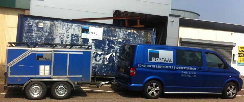 Onze werkplaats in Beverwijk